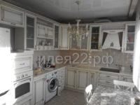 кухня классическая белая с патиной на заказ Барнаул
